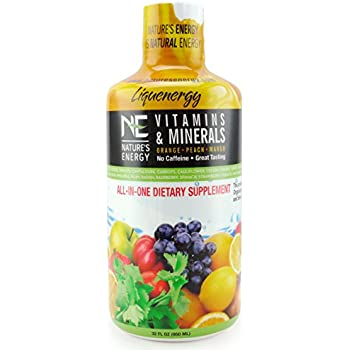 Amazon.com: All-in-One Vitaminas & Minerales de energía ...