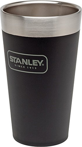 Stanley 10-02282-007 Adventure Stacking Vacuum Pint, 16 oz, Matte Black