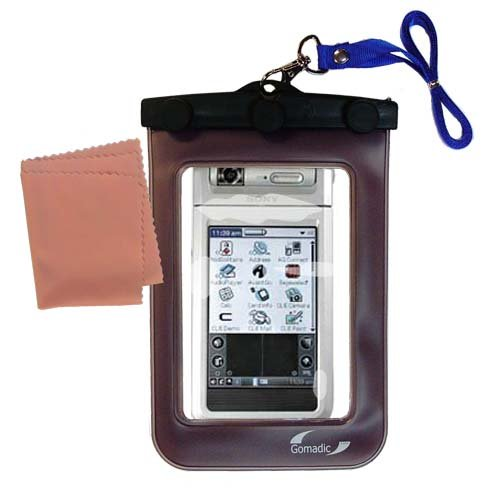 underwater case for the Sony Clie NR70V - weather and waterproof case safely protects against the (Sony Clie Case)