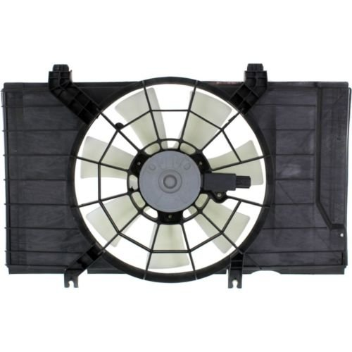 MAPM Premium NEON 02-05 RADIATOR FAN SHROUD ASSEMBLY, Man Trans, 3-Speed, Single Fan, 2.0L ENG by Make Auto Parts Manufacturing