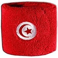 Digni® Poignet éponge avec drapeau Tunisie
