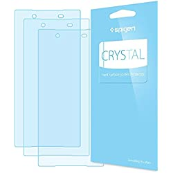 Spigen Crystal Clear Xperia Z5 Screen Protector with Crystal Film 3 Pack for Xperia Z5