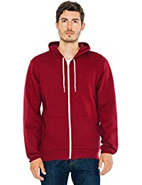 American Apparel Men's Unisex Flex Fleece Zip Hoodie