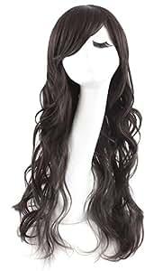 MapofBeauty Full Wavy Women's Wig Long Curly Lady's Wigs (Black) by TaoBaoPit [Beauty]