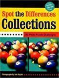 You're going to have to look very closely to spot the subtle differences between seemingly identical picture puzzels featuring all kinds of collections. There are photographs of traditional favorites like figurines and comic books, as well as...