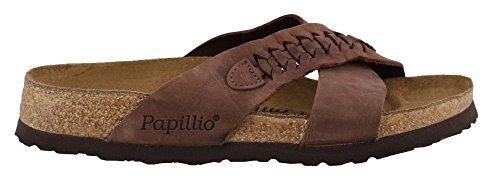 BIRKENSTOCK Women's, Daytona Slide Sandals Brown 3.9 M by Birkenstock