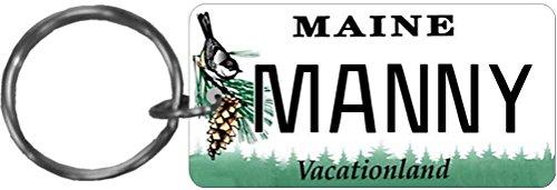 Personalized Maine 1999 Replica License Plate Keychain - 1999 Replica
