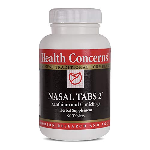 (Health Concerns - Nasal Tabs 2 - Xanthium and Cimicifuga Herbal Supplement - 90)