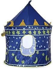 خيمة لعب للاطفال الاولاد قابلة للطي والحمل بتصميم القلعة كوبي، هدية رائعة للعب خارج المنزل - 2724340279862