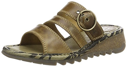 Fly London Damen Thea724fly Sandalen Braun (camel)