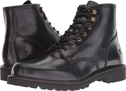 FRYE Men's Dawson Lug Workboot Fashion Boot, Black, 9.5 M M US ()
