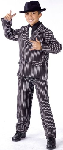 Gangster Male Child Costume - Large (12-14)