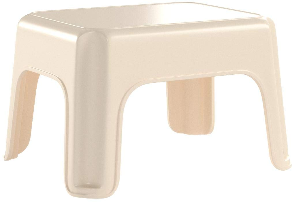 Rubbermaid Roughneck Step Stool, Bisque (FG420087BISQU) by Rubbermaid