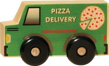 Scoots - Pizza Delivery Truck - Made in USA by Maple Land...