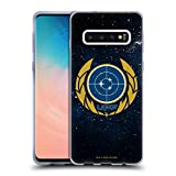Official Star Trek Discovery United Federation of Planets Badges Soft Gel Case Compatible for Samsung Galaxy S10