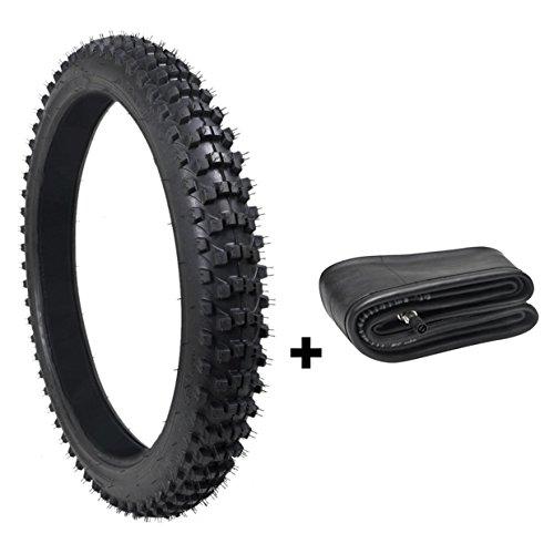 ZXTDR 80/100-21 Dirt Pit Bikes Tire and Inner Tube Set for Motocross by ZXTDR