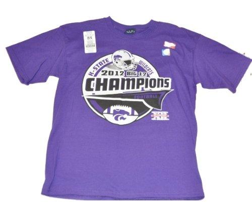 Blue 84 Kansas State Wildcats 2012 Big 12 Champs Locker Room Youth T-Shirt ()