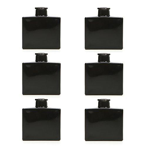 Hosley Black Glass Vase Bottle product image