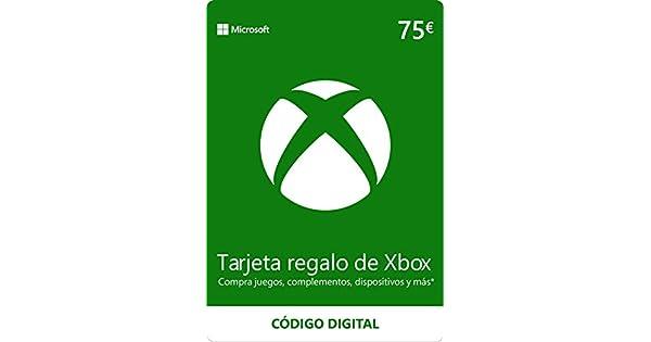 Xbox Live - 75 EUR Tarjeta Regalo [Xbox Live Código Digital ...