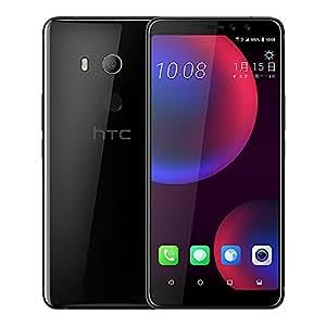 HTC U11 EYEs (2Q4R100) 4GB / 64GB 6.0-inches LTE Dual SIM Factory Unlocked - International Stock No Warranty (Ceramic Black)