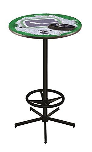 Nhl Vancouver Canucks Pub Table (Holland Bar Stool Co. NHL Vancouver Canucks Officially Licensed Pub Table, 36
