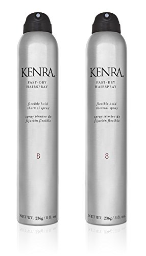 Kenra Fast Dry Hairspray 8 Ounce 2 Pack