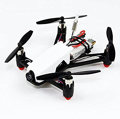 HOBBYMATE Q100 Micro FPV Brushed RC Quadcopter Frame Kit Combo W/ 8520 Motor, N32 Brused FC, Micro VTX Camera, DSM2 Compatible Receiver, Battery, Props