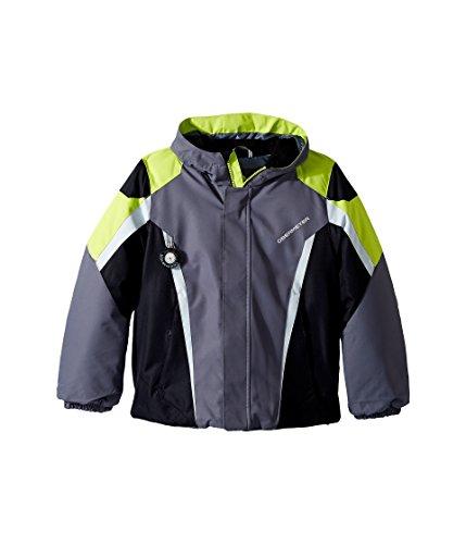 Obermeyer Kids Baby Boy's Raptor Jacket (Toddler/Little Kids/Big Kids) Graphite 4T