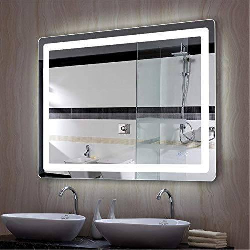 Ryan's LED Lamp Bathroom Mirror Intelligent Anti-Fog Moisture-Proof Touch Screen Bluetooth Audio -