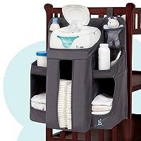organizador de guardería de hipo y bebé pañal para bebés | Organización de pañales colgantes de almacenamiento para Baby Essentials | Colgar en la cuna, cambiar la mesa o la pared