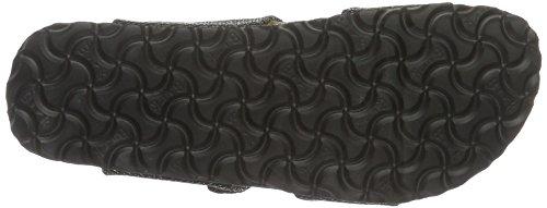Birkenstock Sydney Textil - Mules Mujer Negro - Schwarz (metallic Knit Black)