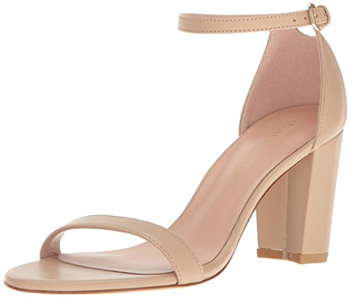 Stuart Weitzman Womens Quasinude Sandalo Con Tacco Adobe