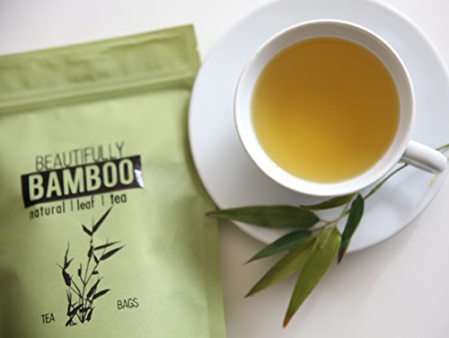 - Bamboo Tea - Rich in Organic Silica- for Healthy Hair, Skin & Nails- 30 Day Challenge!
