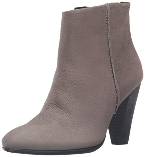 ECCO Women's Women's Shape 75 Bootie Boot, Warm Grey Nubuck, 39 EU/8-8.5 M US