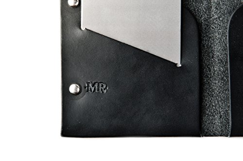 Bifold Night Mr Desert Leather Wallet Men's Lentz Dark Handcrafted zXqfPz
