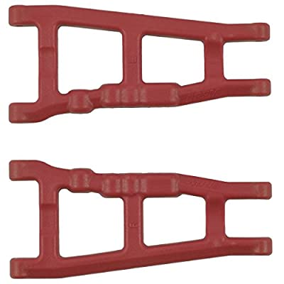 RPM 80709 Traxxas Slash 4x4, Stampede 4x4 and Rally Front Or Rear A-Arms-Red: Toys & Games