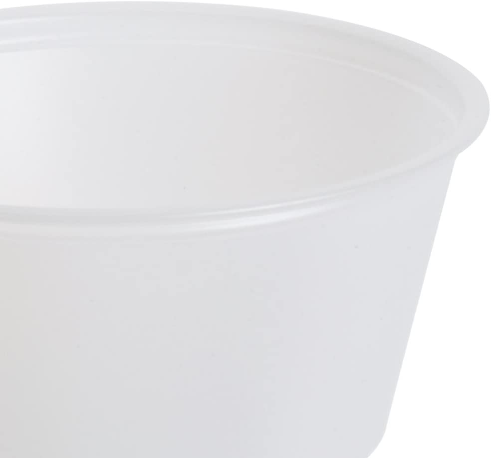 20 Sleeves of 125 2 oz. A World Of Deals Jello//Souffle//Portion Cups Disposable Plastic Shot Glass