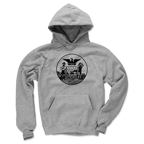 San Diego Hoodie Sweatshirt - Small Gray - San Francisco California ()