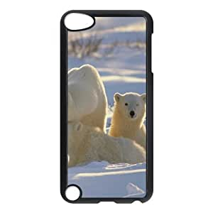 ALICASE Design Phone Case Polar Bear For Ipod Touch 5 [Pattern-1]