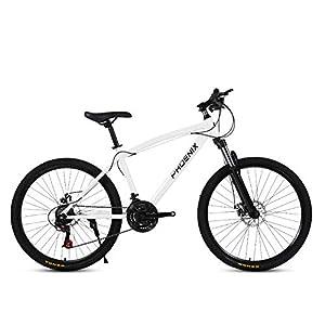 4176h%2BQ6n L. SS300 Bicicletta MTB, Bicicletta, 26 Pollici 21 velocità Bicicletta Mountain Bike, Biciclette Sospensioni Anteriori Doppio…