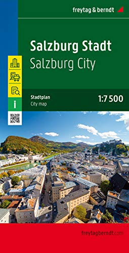 Salzburg, Austria Map (English, French, Italian and German Edition) (German) Map – January 1, 2006