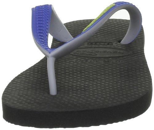 Havaianas Flip Flops Kids Top Mix Black/Blue y9q8tLvgn