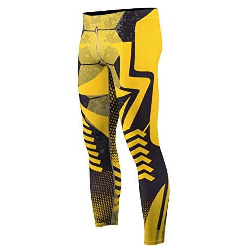 242d97cf9b zipravs BJJ Compression Tight Pants Workout Running Baselayer for Men