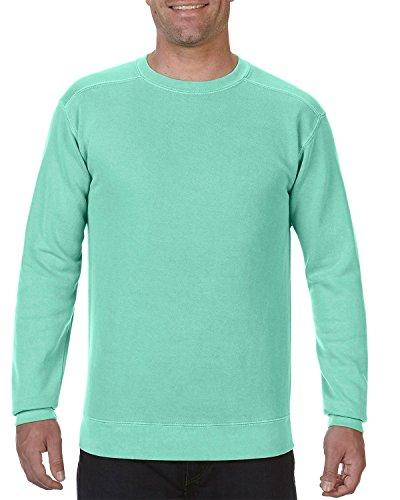 Comfort Colors Men's Garment-Dyed Crewneck Sweatshirt, Island Reef, X-Large ()