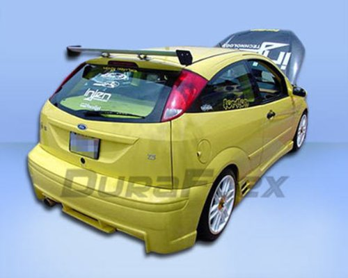 (Duraflex Replacement for 2000-2007 Ford Focus ZX3 Evo Rear Bumper Cover - 1 Piece )