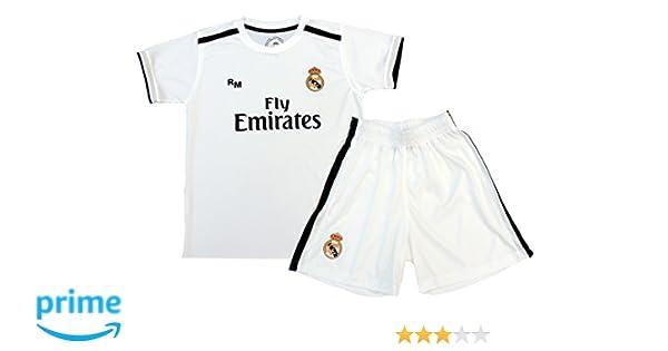 Kit Infantil Real Madrid Réplica Oficial Licenciado de la 1ª ...