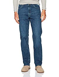 Authentics Men's Classic 5-Pocket Relaxed Fit Flex Jean