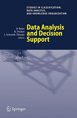 Read Online Data Analysis and Decision Support (Studies in Classification, Data Analysis, and Knowledge Organization) PDF