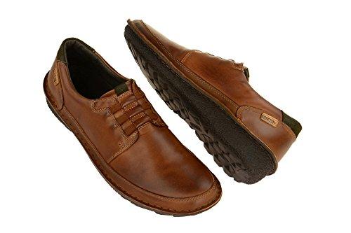 Zapatos 01G cuero cuero planos Hombre marrón 3070 8xwqFw4