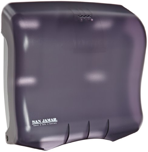 San Jamar T1750 Ultrafold Towel Dispenser, Fits 400 Multifold/240 C-Fold Towels, 11-1/2